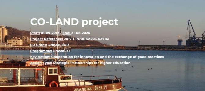 CO-LAND: Planificarea integrată a zonelor costiere, eveniment online
