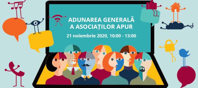 ADUNAREA GENERALĂ A ASOCIAȚILOR APUR 2020