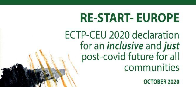 Manifestul CTP-CEU RE-START EUROPE