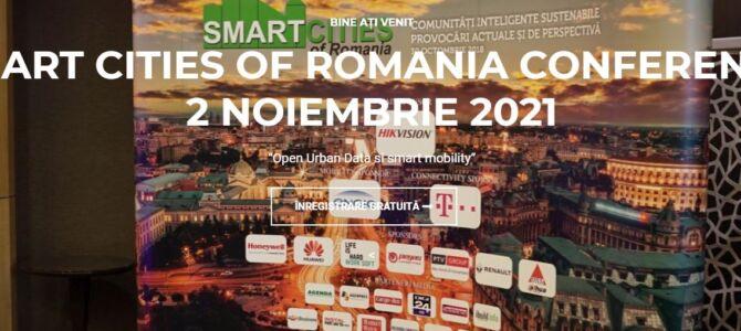 """""""Datele de înaltă calitate – piatra de temelie a unui oraș inteligent"""": Conferinţa Smart Cities of Romania, ediţia a VII-a"""